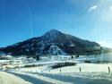 Another beautiful morning in Crested Butte, CO! The sun is shining and the mountains are dusted with powder!