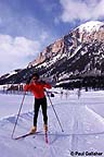 Skate skiing at Skyland