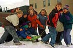 Recess at the Crested Butte Community School