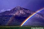 The Butte at the end of a rainbow
