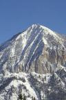 Mt. Crested Butte in Winter