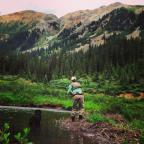 Crested Butte fly fishing in the summertime can be very rewarding!